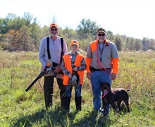 2016 Illowa NAVHDA Youth Pheasant Hunt